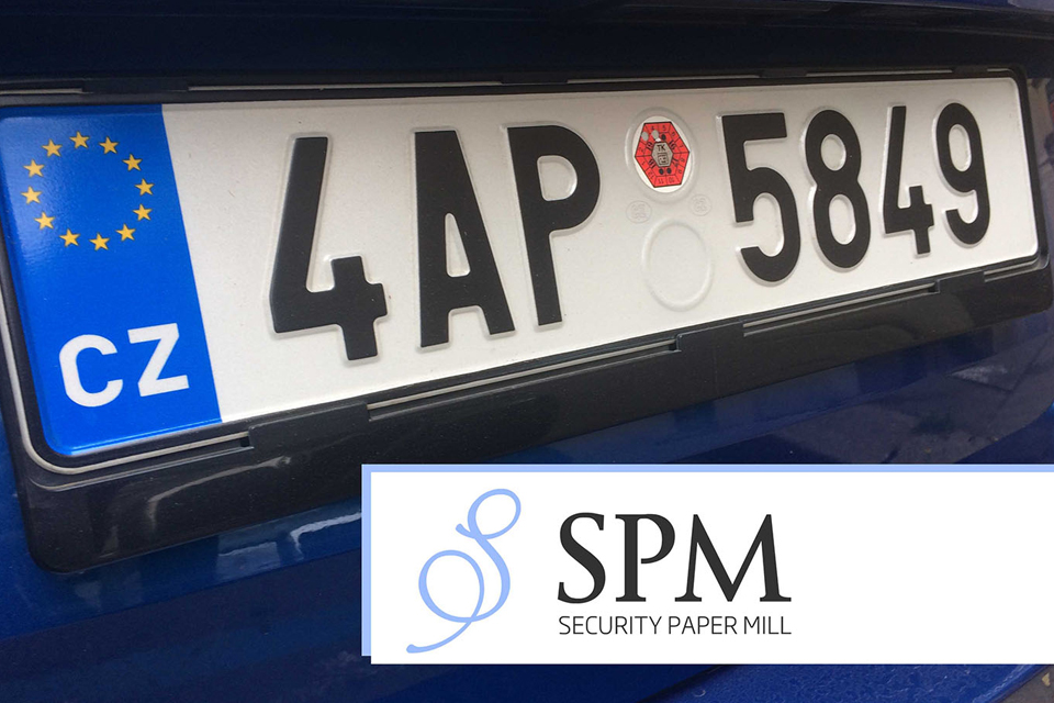 Security Paper Mill won a Ministry of Transport tender for supply of licence plates & News